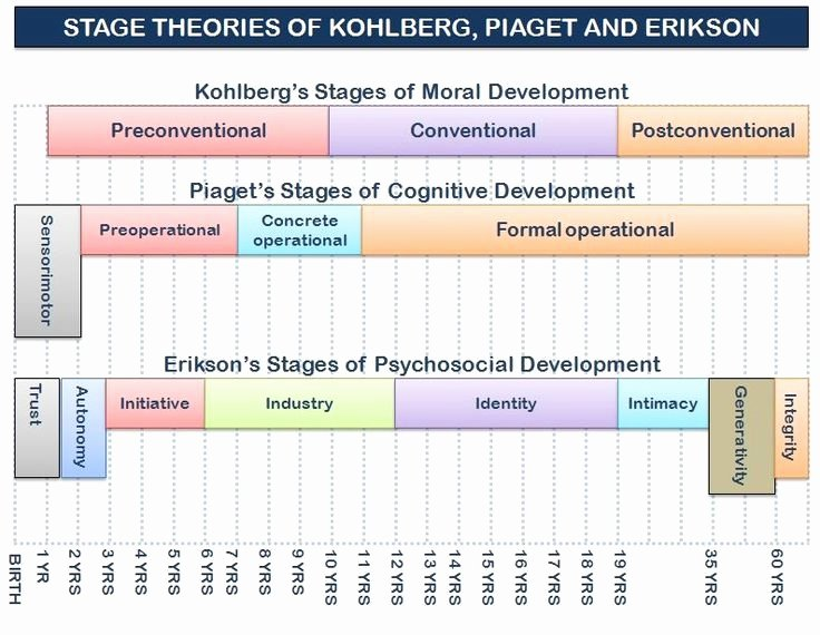 Nature Vs Nurture Venn Diagram Awesome Graphic Of the Stage theories Of Kohlberg Erikson and