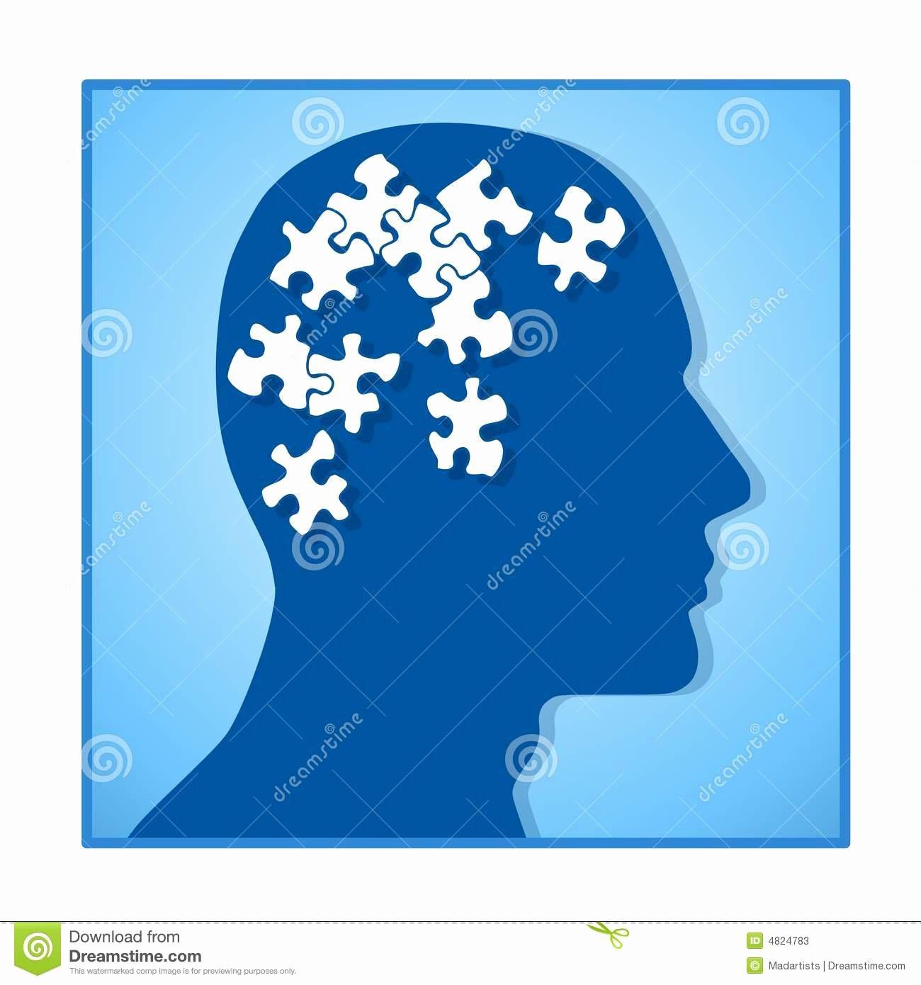 Nature Vs Nurture Venn Diagram New Brain as Puzzle Pieces In Head Stock S Image