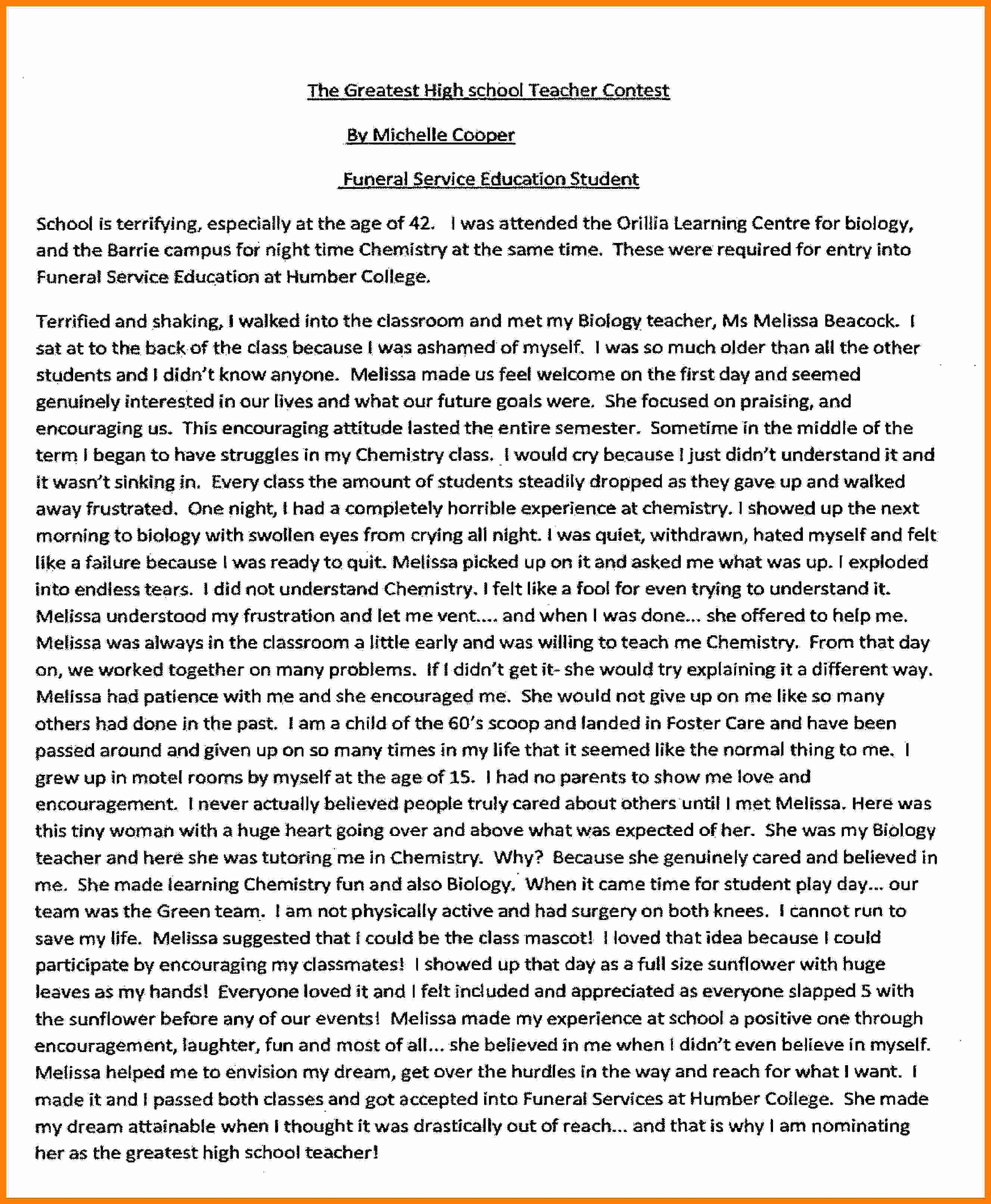 Neumann Scholarship Essay Examples Awesome 6 College Essay assignment