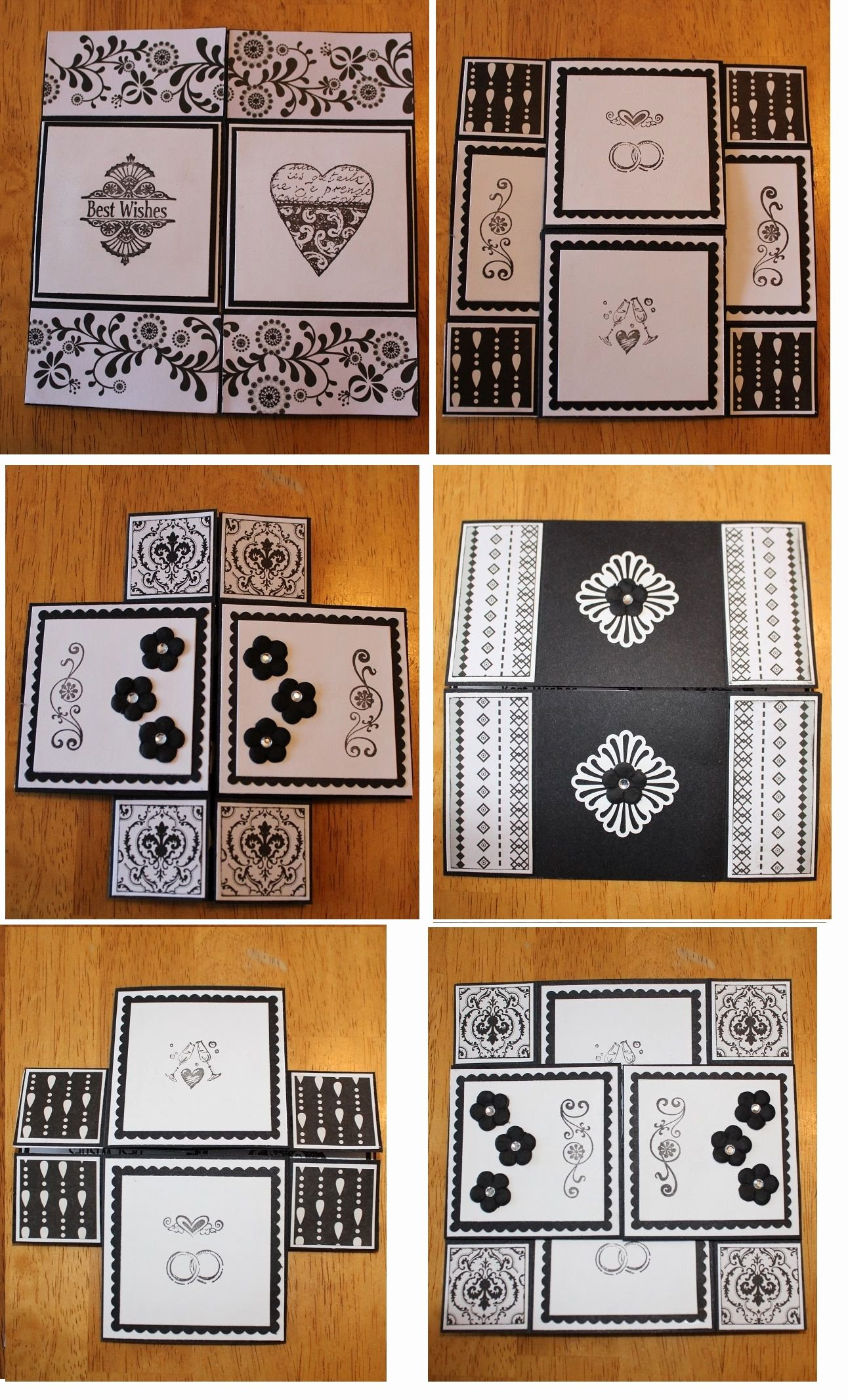 Never Ending Card Template Awesome Never Ending Wedding Card I Made