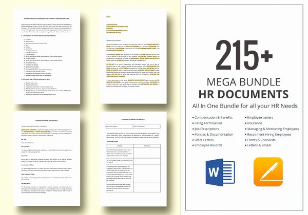 New Employee Welcome Packet Template Lovely 14 Sample Employee Handbook & Manual Templates
