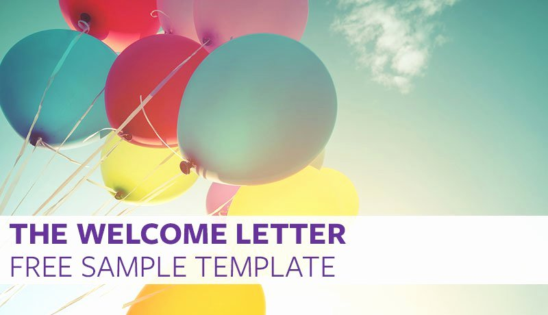New Employee Welcome Packet Template Lovely the Wel E Letter Free Sample Template – Proven