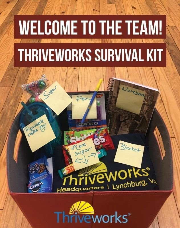 New Employee Welcome Packet Template Unique New Employee Wel E Kit Thriveworks Fice