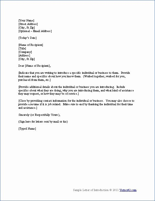 New Sales Rep Introduction Email Luxury Free Letter Of Introduction Template
