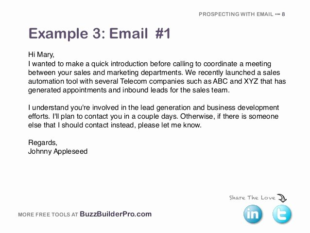 New Sales Rep Introduction Email New Cold Emailing Templates for Prospecting