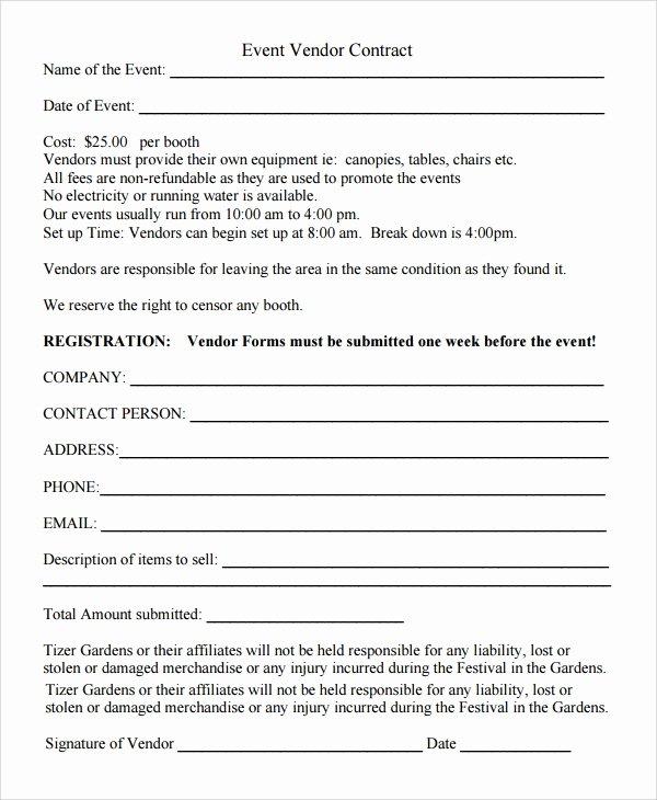 New Vendor Setup form Excel Template New 9 Sample Vendor Registration forms