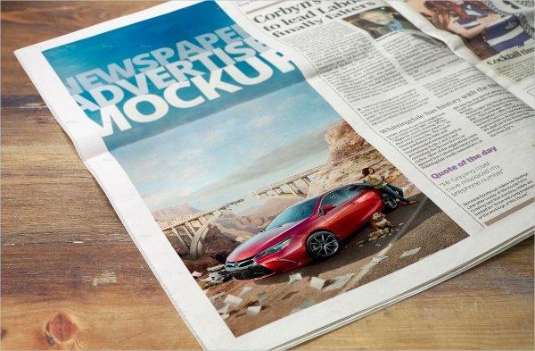 Newspaper Advertisement Template Beautiful 22 Advertising Mockups Free Pdf Psd format Download