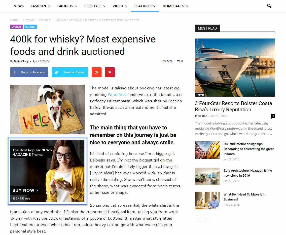 Newspaper Advertisement Template Best Of Newspaper theme Ad System Post Template Ads