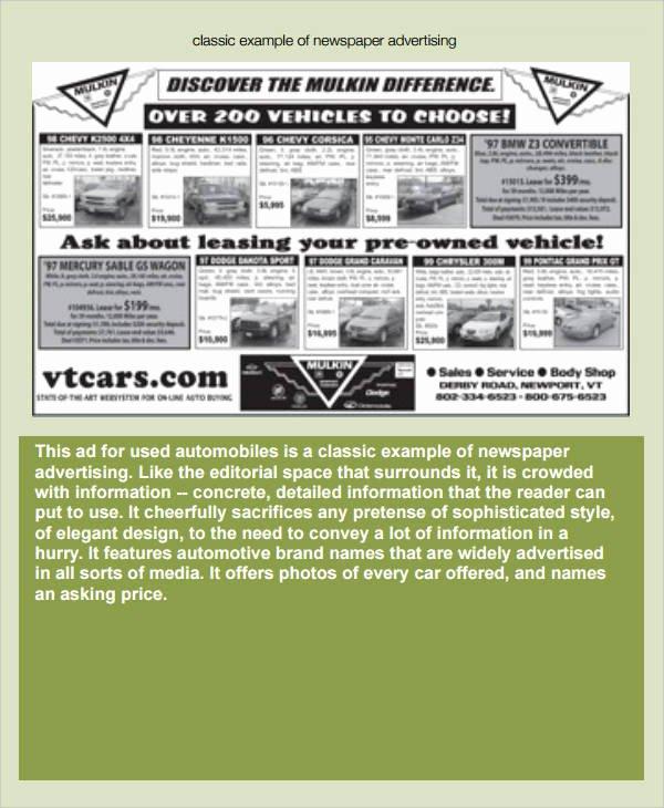 Newspaper Advertisement Template Elegant 53 Amazing Newspaper Templates Pdf Ppt Word Psd
