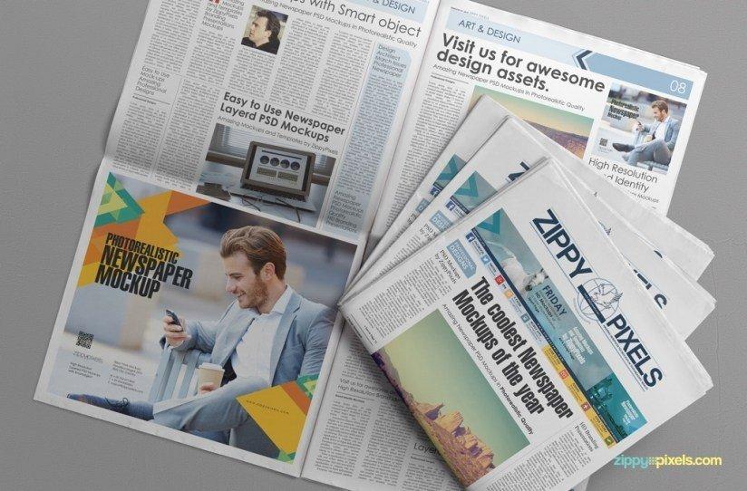 Newspaper Advertisement Template Inspirational the Best Free Psd Newspaper Mockups