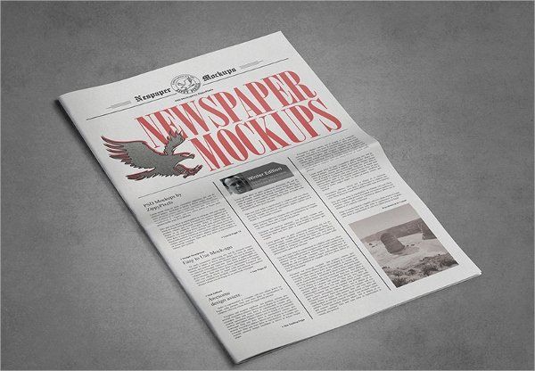 Newspaper Advertisement Template Lovely Newspaper Template 17 Psd Vector Eps Png format