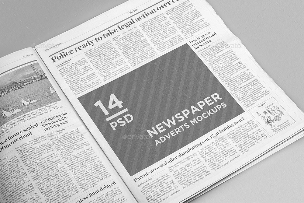 Newspaper Advertisement Template Unique 17 Free and Premium Advertisement Mockups Psd Download