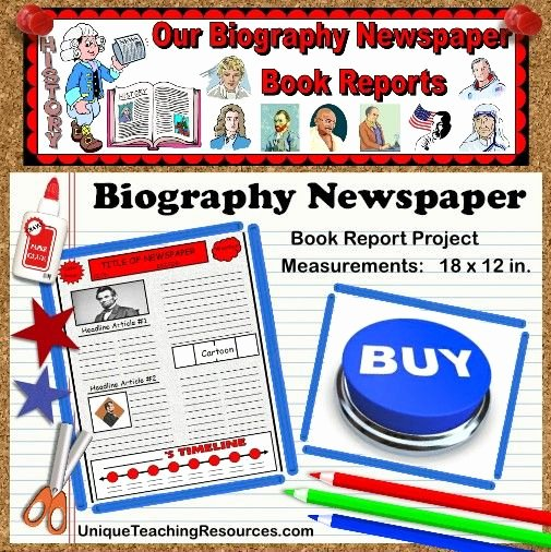 Newspaper Book Report Template Best Of 74 Best Images About Book Report Ideas On Pinterest