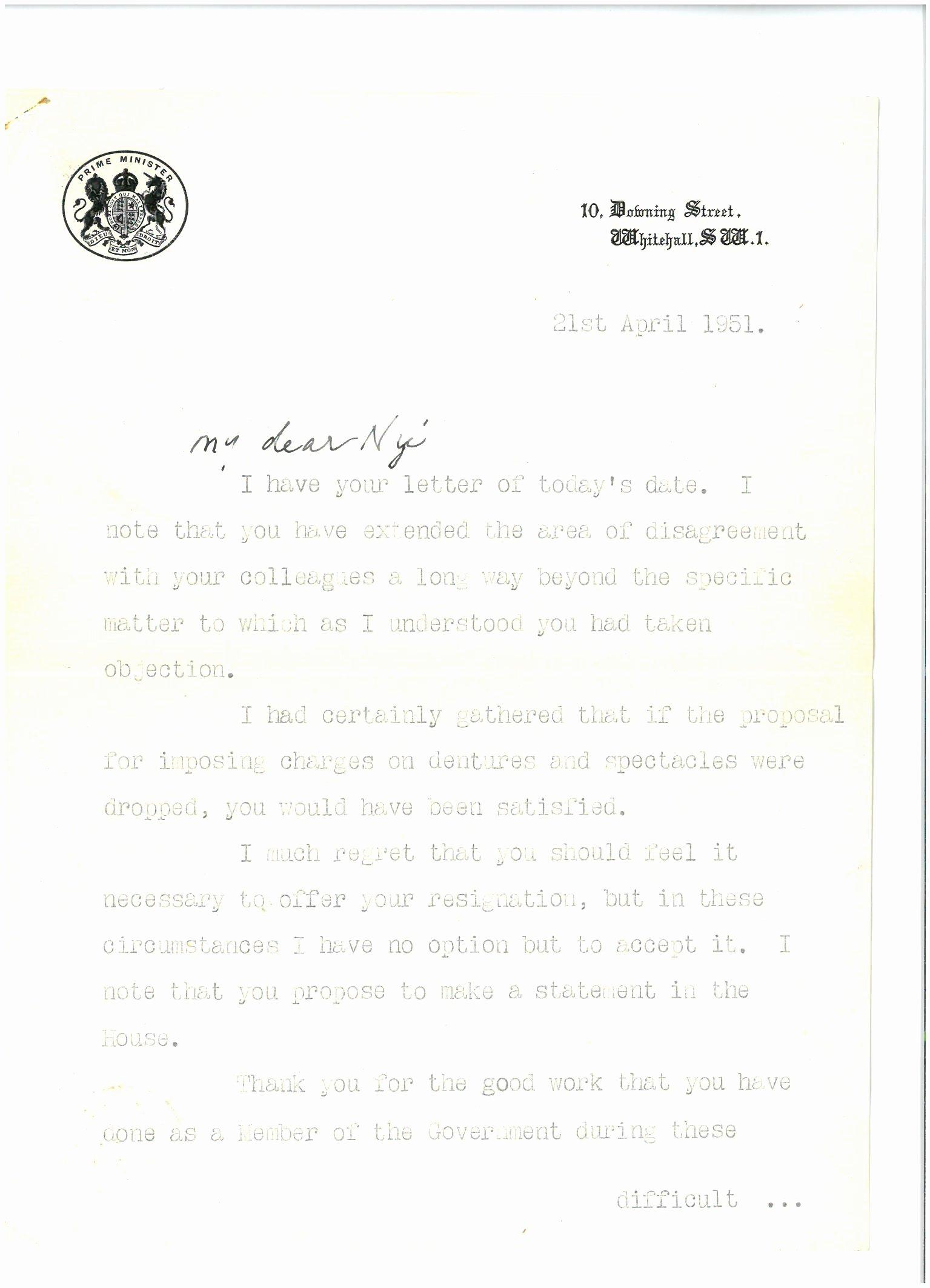 Nhs Acceptance Letter Sample Elegant Aneurin Bevan