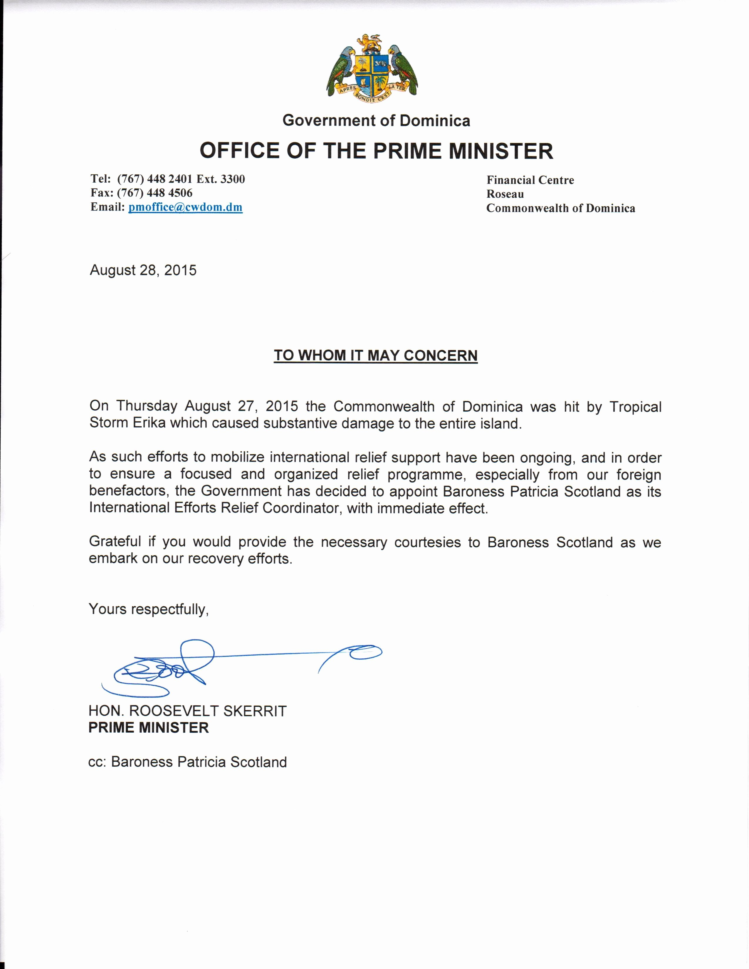 Nhs Acceptance Letter Sample Elegant Appointment Letter Dominica News Online Most Popular