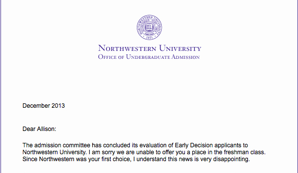Nhs Acceptance Letter Sample Fresh Rejected – the north Star