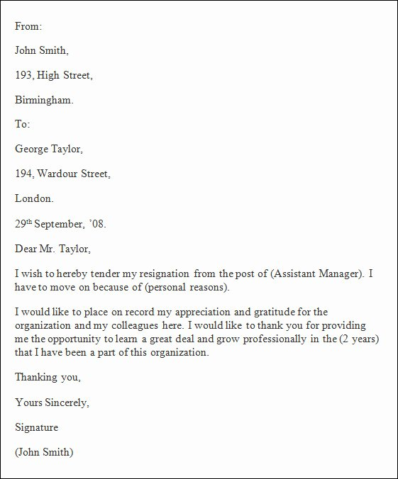 Nhs Acceptance Letter Sample New formal Resignation Letter 40 Download Free Documents In