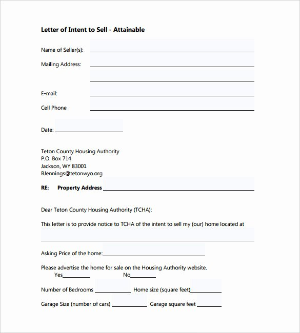 Non Binding Letter Of Intent to Lease Template Beautiful 9 Letter Of Intent Templates – Free Sample Example format