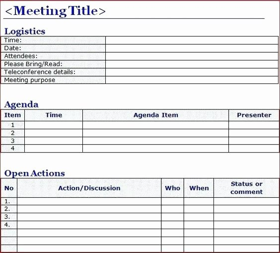 Non Profit Meeting Minutes Template Luxury Non Profit Board Resolutions Template Meeting