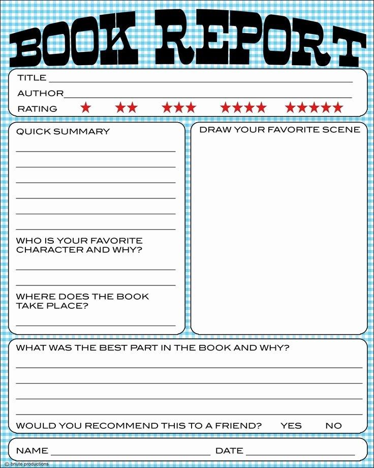 Nonfiction Book Report Template Beautiful Best 25 Book Report Templates Ideas On Pinterest