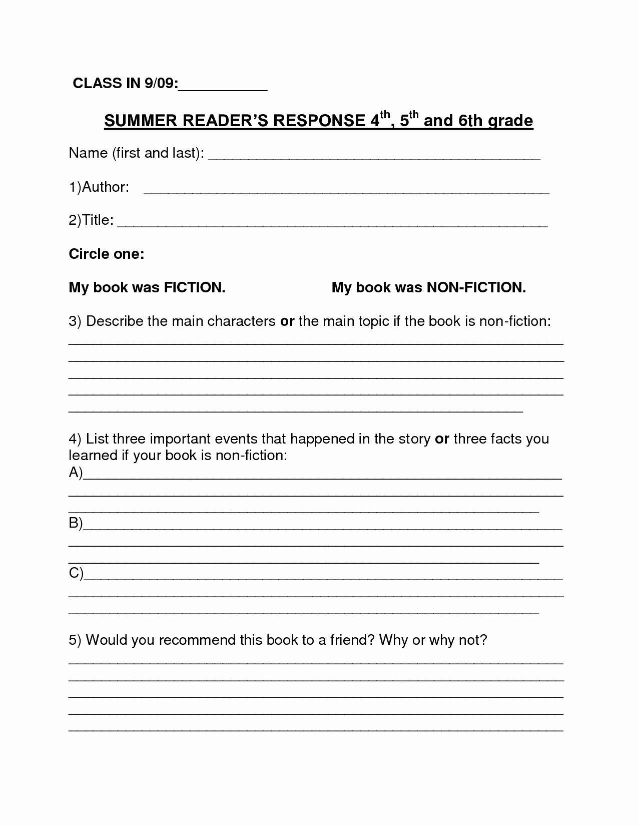 Nonfiction Book Report Template Elegant Non Fiction Book Report Template 3rd Grade Ideas for