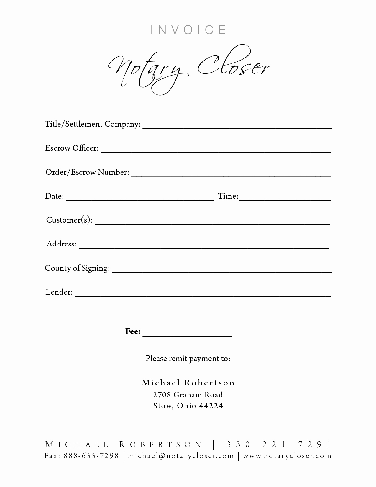 Notary Public Letter Template Best Of Doc Notary Template – Notarized Letter Templates