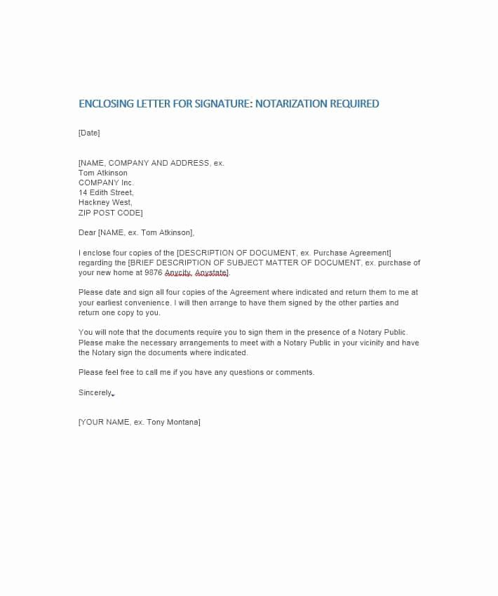 Notary Public Letter Template Best Of Notary Public Letter Request From Employer Sample