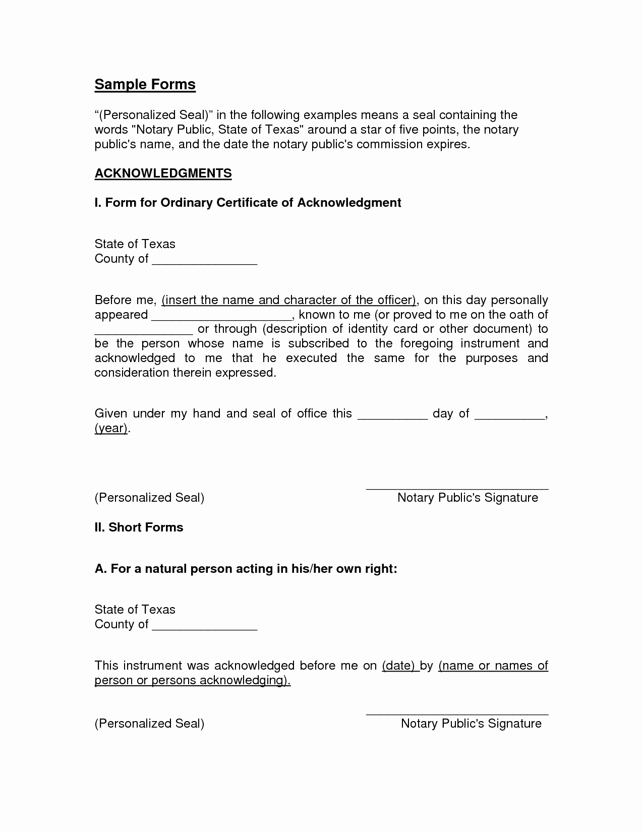 Notary Public Letter Template Inspirational Texas Notary Letter Template