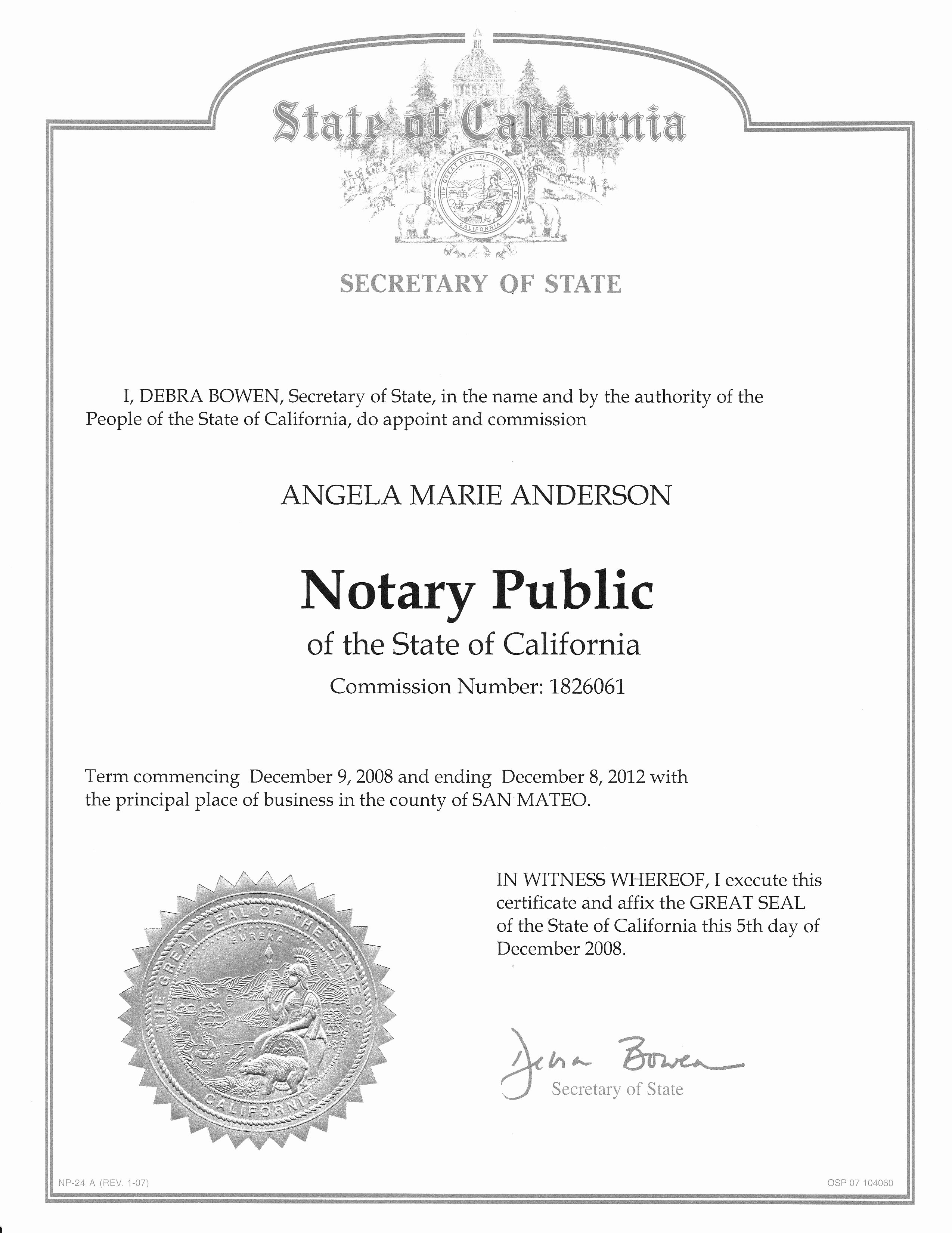 Notary Public Signature Line Template Lovely Best S Of Nc Notary Public Signature Page Sample Of