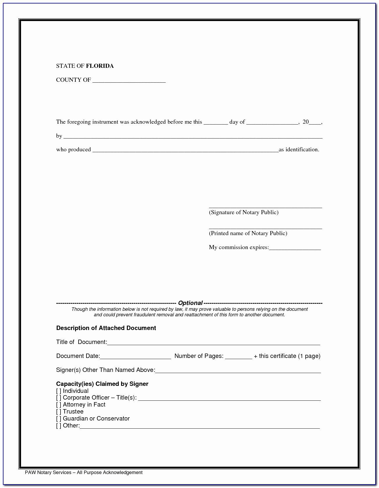 Notary Public Signature Line Template Unique Notary Public Signature Line Template Free Templates Block