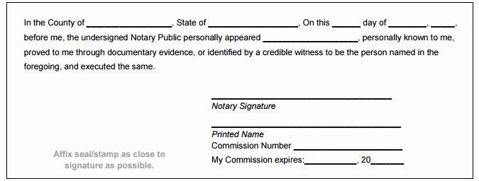 Notary Signature Block Luxury Montana Notary Public Handbook