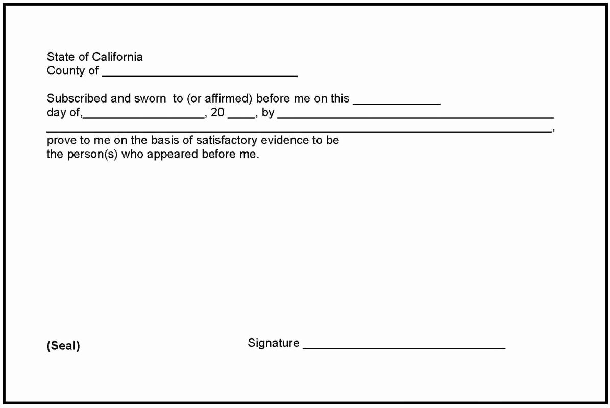 Notary Signature Block Template Awesome Notary Signature Example Archives Hashtag Bg