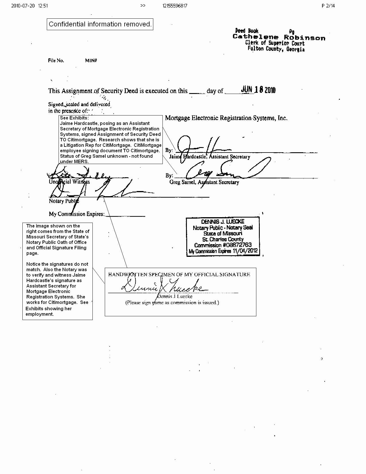 Notary Signature Block Template Lovely Sample A Notarized Document Notary Signatures Examples