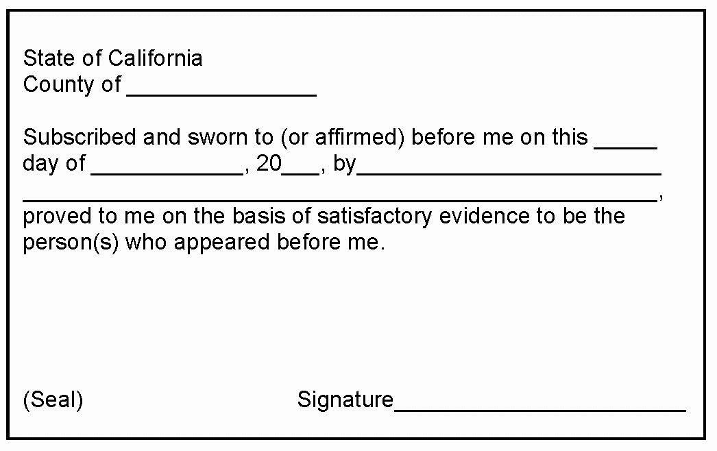 Notary Signature Example Beautiful 24notary Mobile Notary San Jose Milpitas