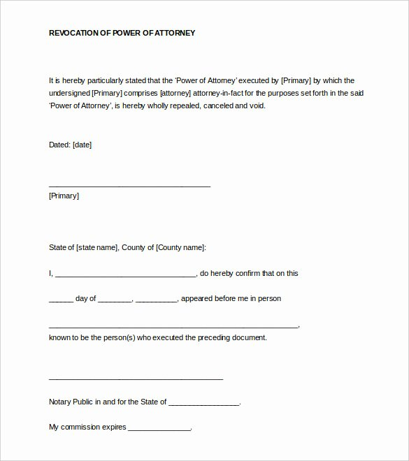 Notary Signature Template Awesome 32 Notarized Letter Templates Pdf Doc
