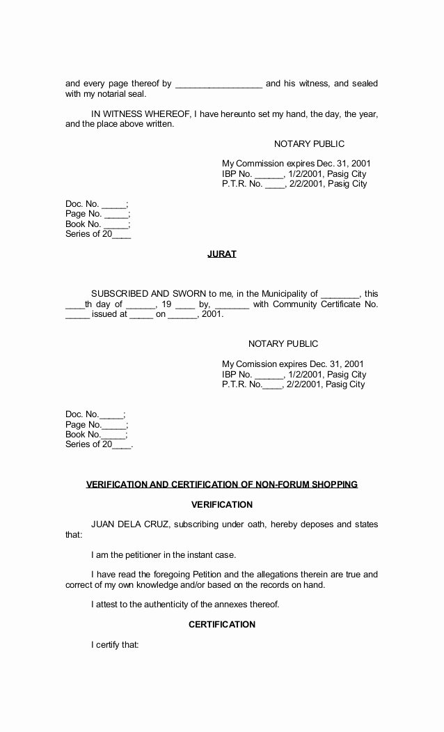 Notary Signature Template Unique 30 Of In Witness Notary form Template