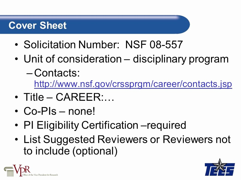 Nsf Letter Of Collaboration Template Fresh Proposal – Nsf Proposal Template Ppt Video Online