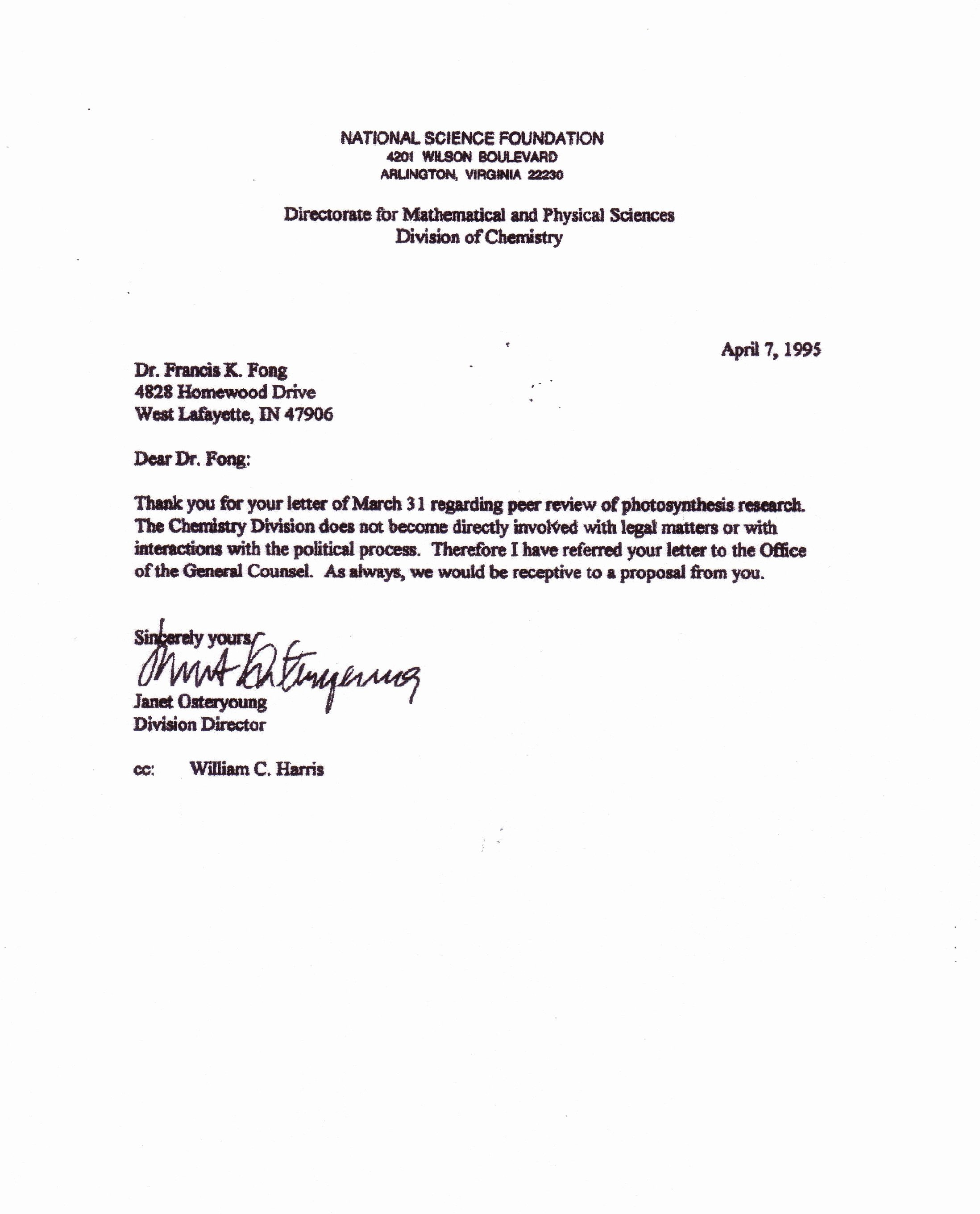 Nsf Letter Template Luxury Calvin Cycle Nsffunding National Science Foundation