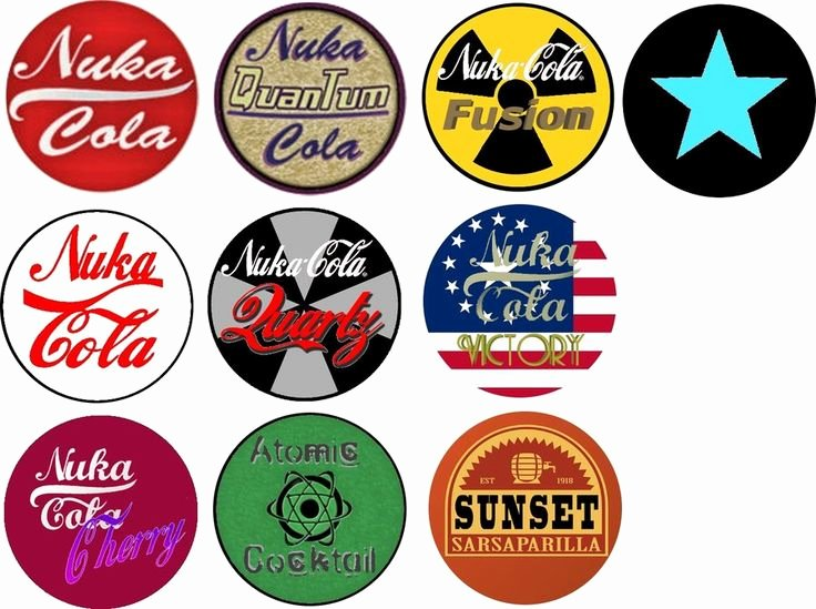 Nuka Cola Quantum Label Template Beautiful Fallout Bottle Caps Template by Dornogolviantart On