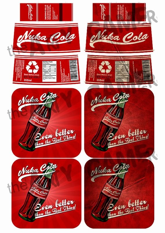 Nuka Cola Quantum Label Template Unique 25 Best Ideas About Nuka Cola Label On Pinterest