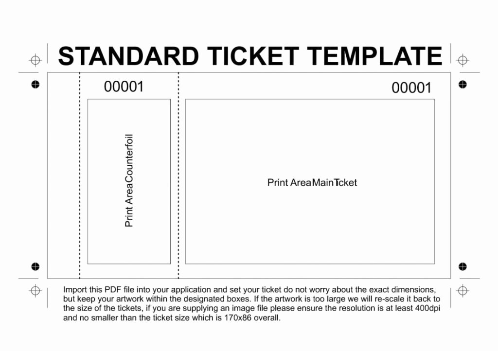 Numbered Raffle Ticket Template Awesome Free Numbered Raffle Ticket Template