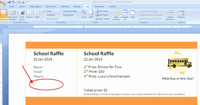 Numbered Raffle Ticket Template Inspirational Raffle Ticket Creator Print Numbered Raffle Tickets at