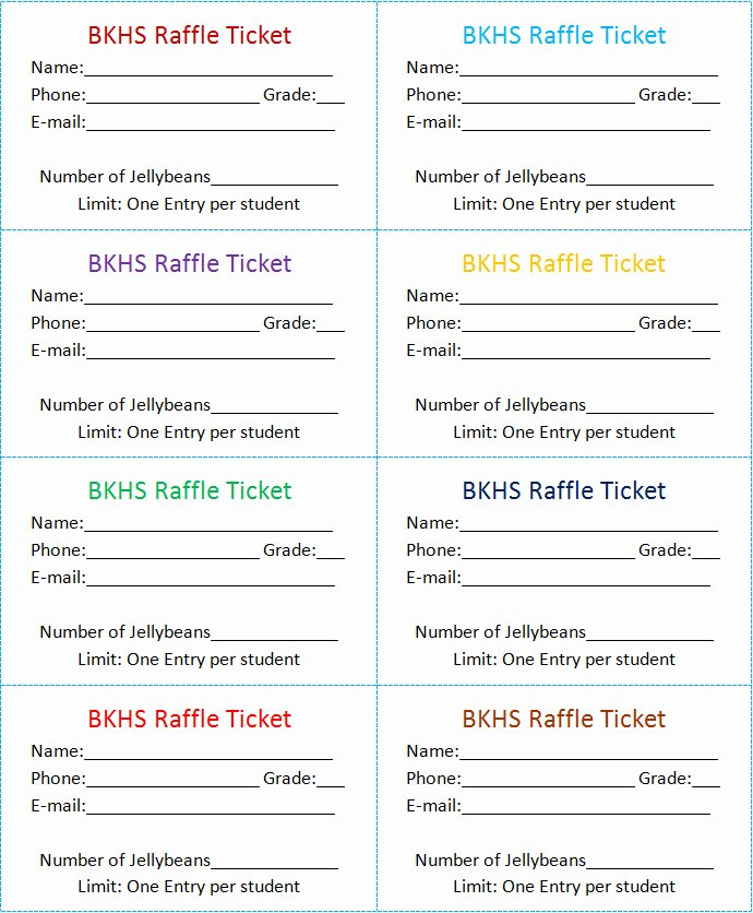 Numbered Raffle Ticket Template Word Best Of 30 Free Movie Ticket Templates Printable Word formats
