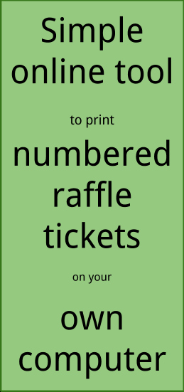 Numbered Raffle Ticket Template Word Best Of How to Number Raffle Tickets In Word
