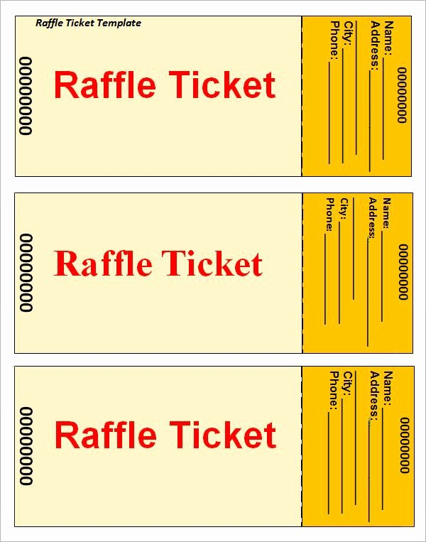 Numbered Raffle Ticket Template Word Elegant 12 Best Baseball softball Images On Pinterest
