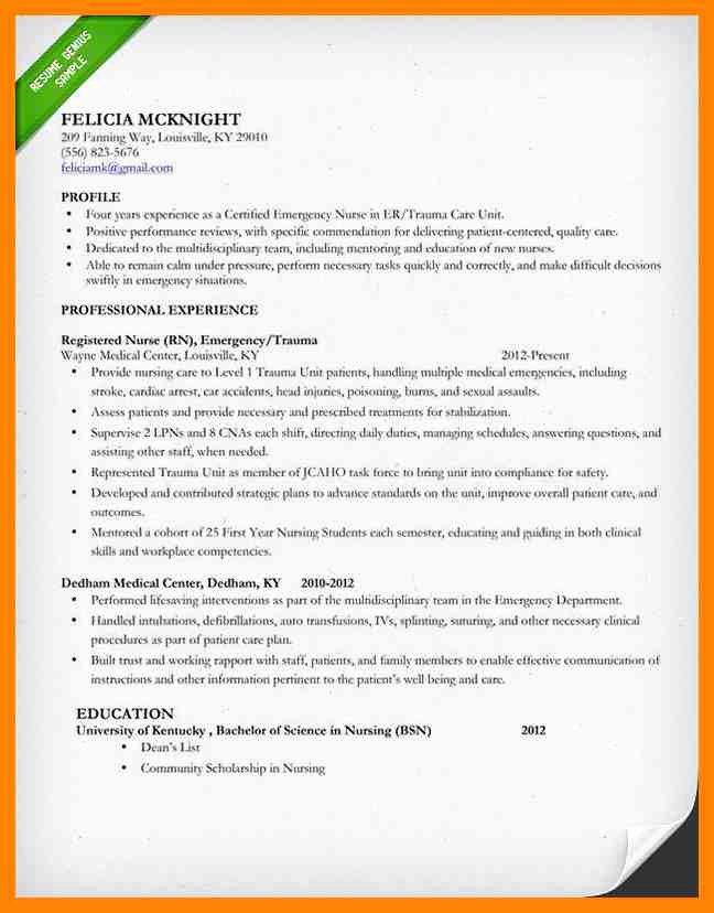 Nursing Clinical Experience Resume Awesome 8 Clinical Experience Resume