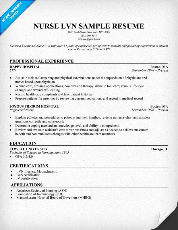 Nursing Clinical Experience Resume Beautiful Lvn Nurse Resume Sample
