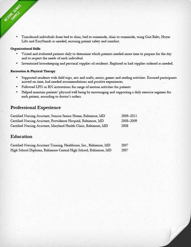 Nursing Clinical Experience Resume Fresh Nursing Resume Sample & Writing Guide