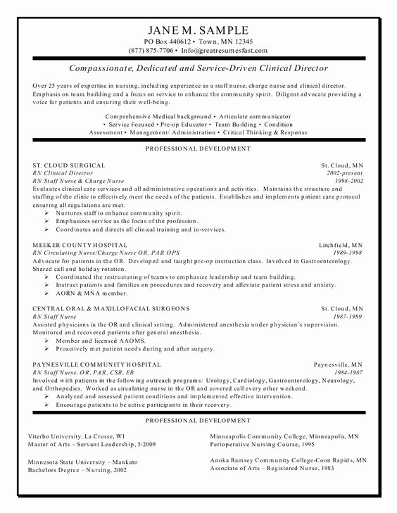 Nursing Clinical Experience Resume Luxury Registered Nurses Nursing and Resume Examples On Pinterest