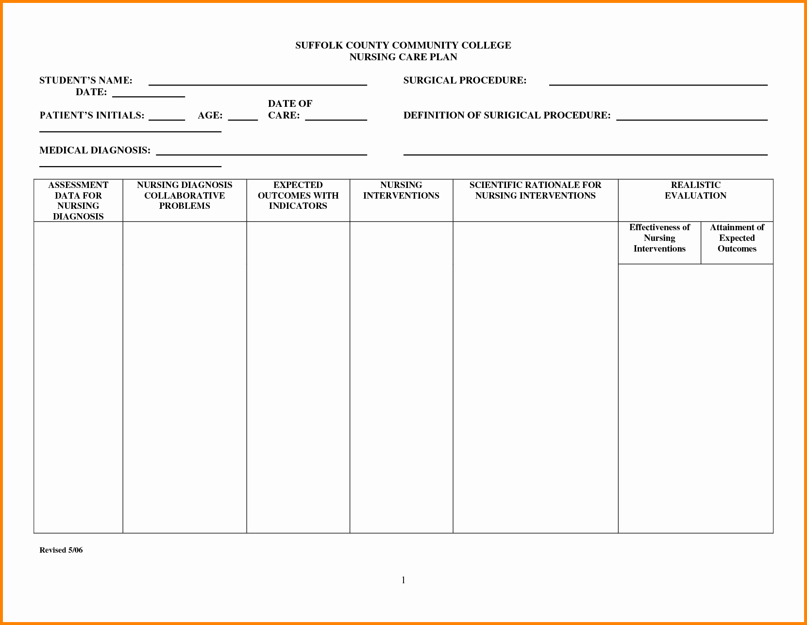 Nursing Education Plan Template New 24 Of Nursing Teaching Plan Template